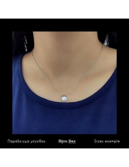 Perlenkette aus 925 Sterling Silber FRANOI 2