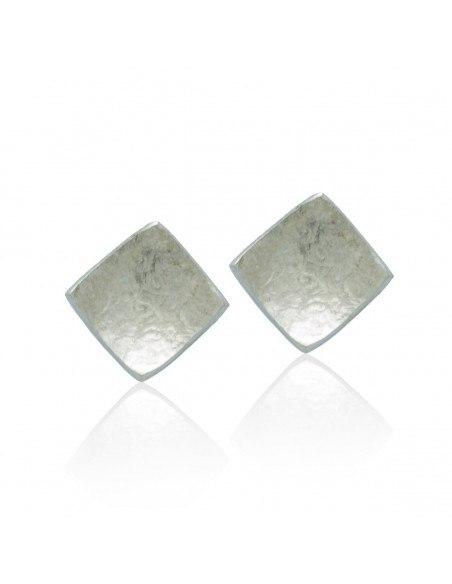 Silver Stud Earrings SQUARE