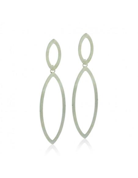 Long Earrings handmade silver BLARE