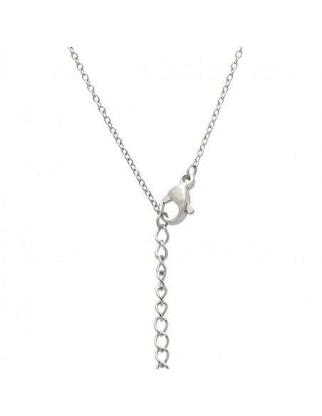 Greek Name Necklace Eleni silver 3