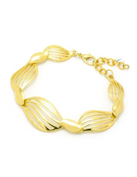 Ατσάλινο Βραχιόλι χρυσό LORUS