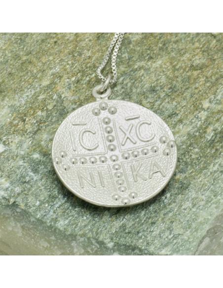 Silber Halskette Konstantin Münze VERI 2