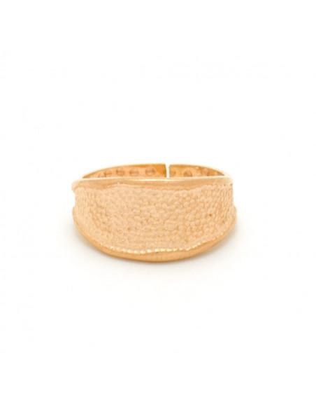 Silber Ring für kleinen Finger handgemacht rosegold REGI
