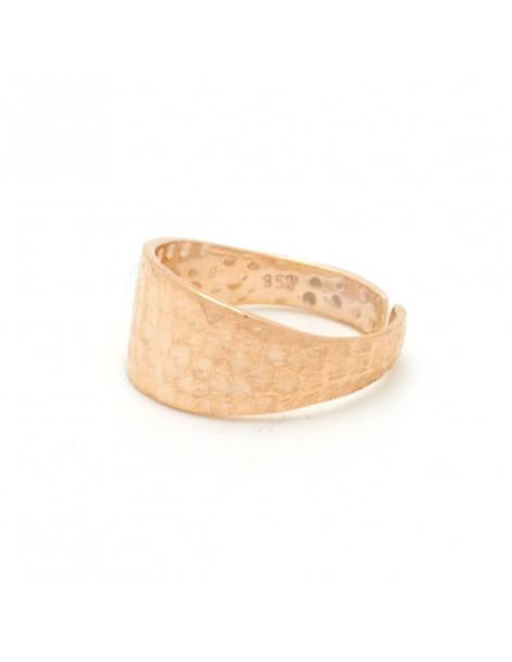 Silber Ring für kleinen Finger rosegold ABBY