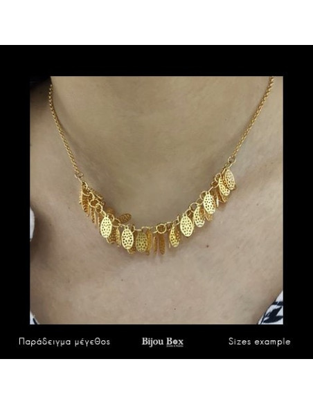 Necklace gold plated DASO 2