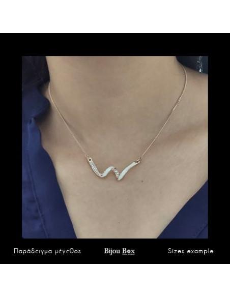Necklace rose gold WAVE II 2