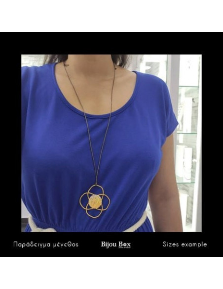Necklace bronze gold plated TELOS 2