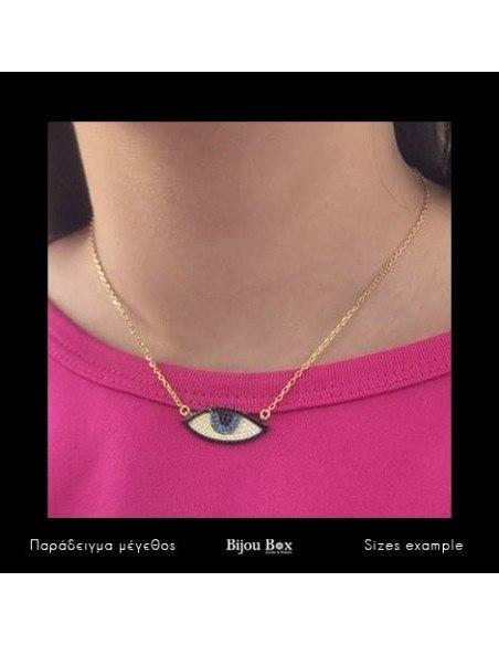 Nazar Silber Halskette gold PAREL 3