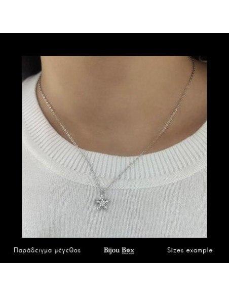 Silber Halskette STERN 2