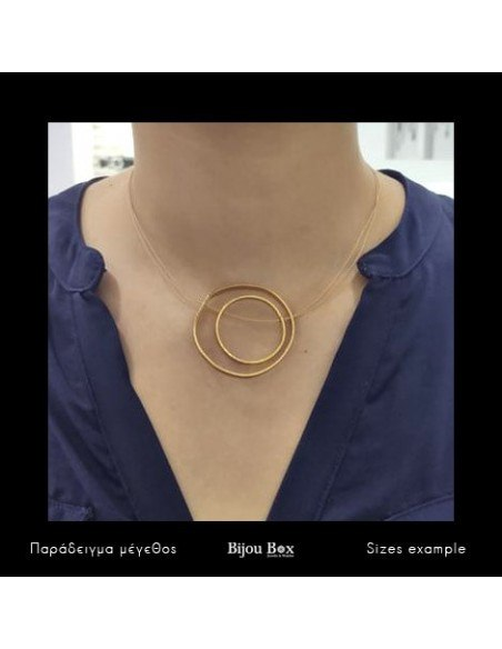 Necklace of bronze gold SIRI 2