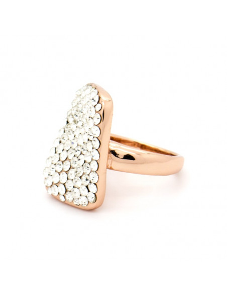 "RING ROSE GOLD PLATED ""ENTIPO"""