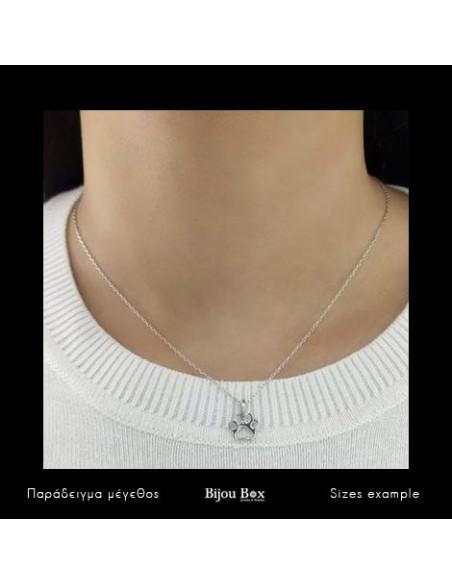 """Silberkette """"Bärentatze"""" 2"""