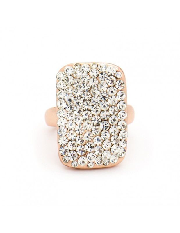 """RING ROSE GOLD PLATED """"ENTIPO"""""""