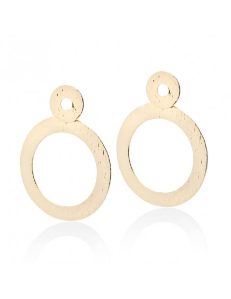 Ohrringe aus Bronze gold RORO