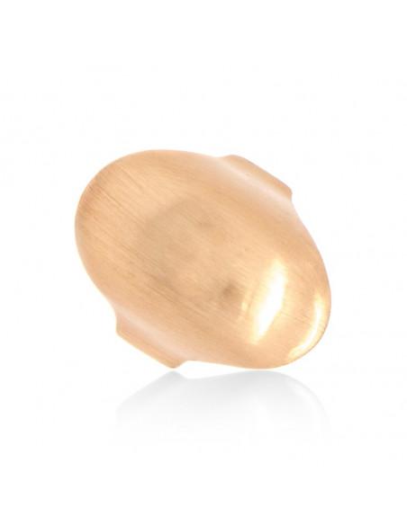 Δαχτυλίδι ροζ χρυσό επιχρυσωμένο PLAST 3