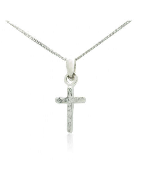 Cross Necklace of 925 silver handmade DARI