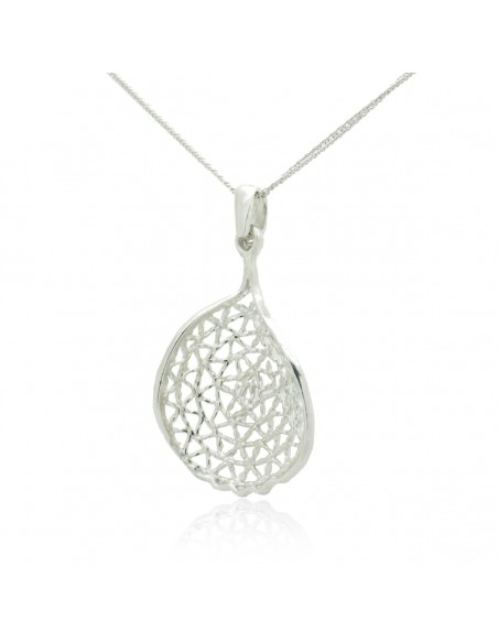 Silver Necklace with pendant handcrafted MIRI 2
