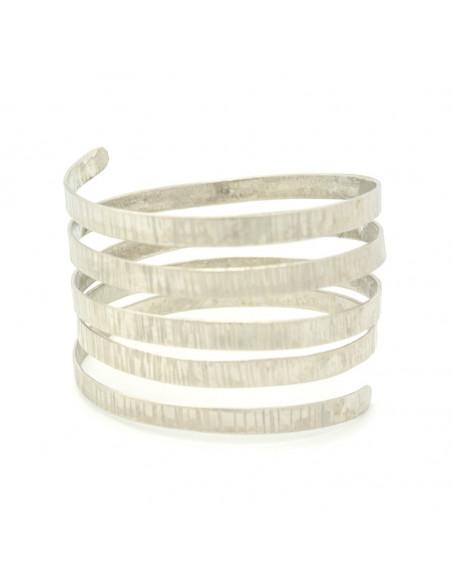 Grecian bangle bracelet silver SERIO II 3