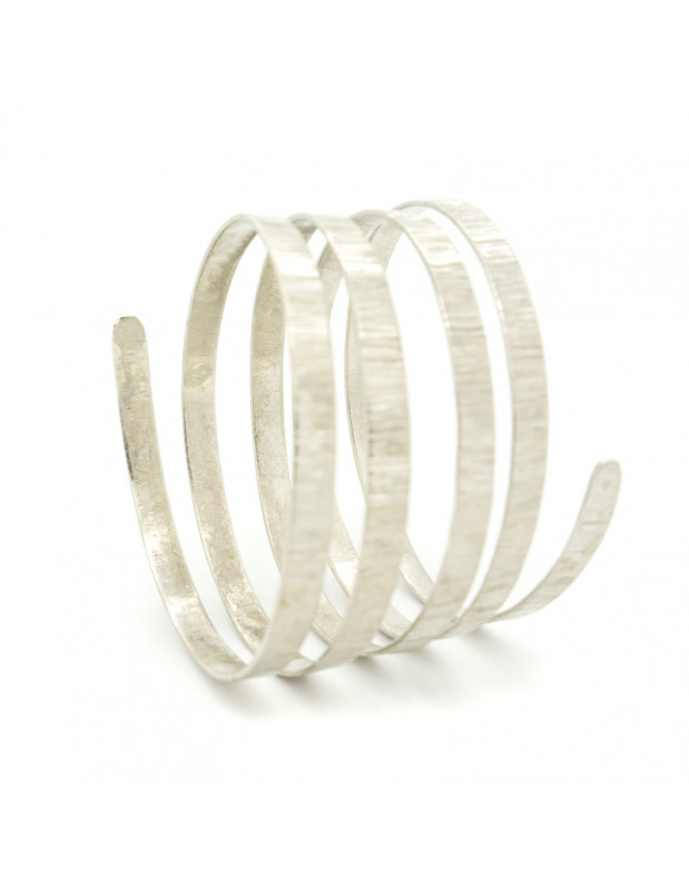 Grecian bangle bracelet silver SERIO II