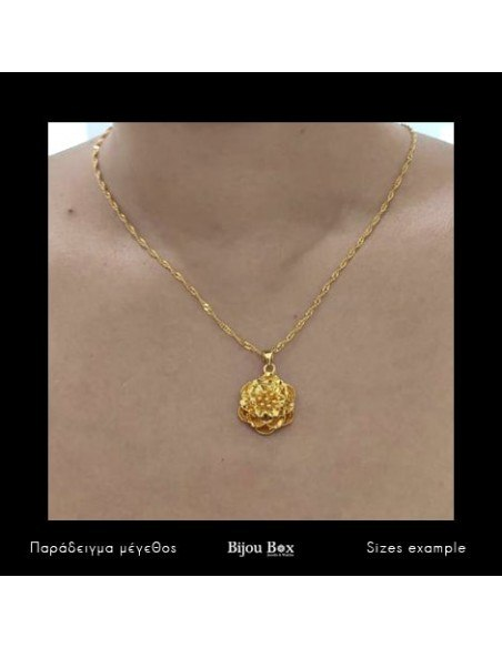 Halskette Blume gold OPLA 2