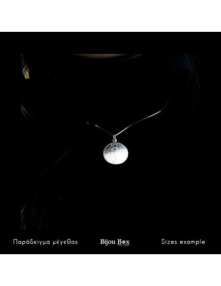 Silber Halskette Konstantin Münze VERI 3