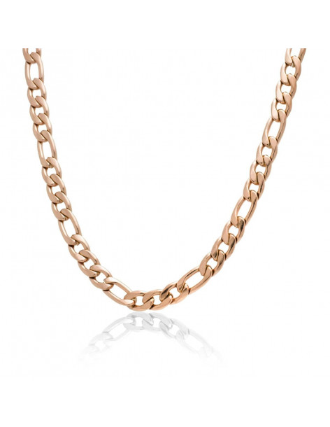 Chain of stainless steel 50cm rose gold BAINE