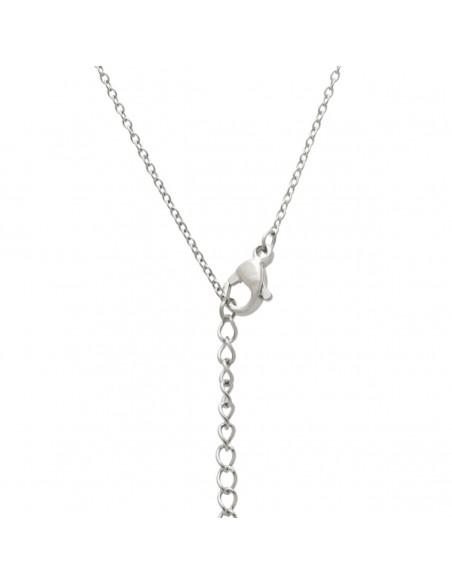 Sterling silver necklace with cloverleaf ERNE 2