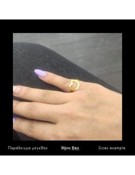 Ring of bronze handmade gold CAT 2