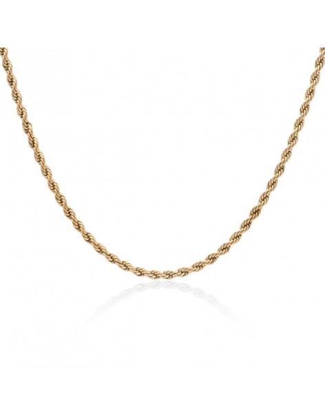 Chain of stainless steel 40 - 45cm rose gold 4mm TASSINI