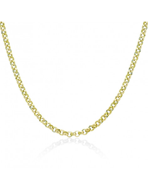 Chain of stainless steel 40 - 45cm gold TOLOI