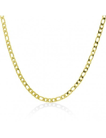 Chain of stainless steel 45cm gold 4mm TANO