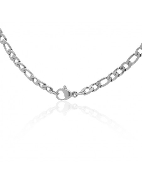 Chain of stainless steel 45cm silver 4mm TANO 2