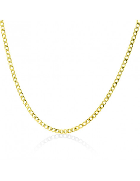 Chain of stainless steel 45cm gold 3mm TAROL