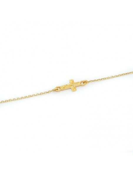 Bracelet silver gold plated AGIO