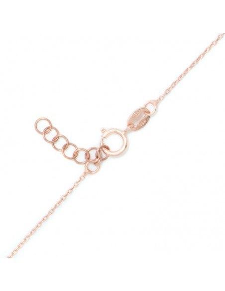 Silberkette Nazar rosé gold REVIL 4