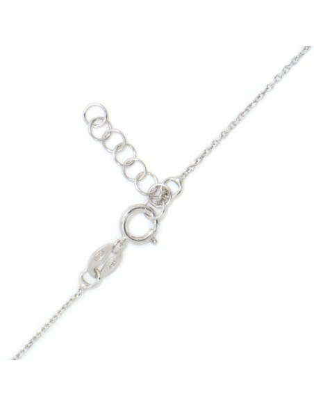 Silver Necklace with cat GATOULA 3