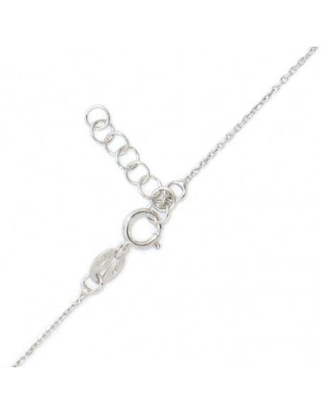 Silberkette mit Perle Blume INKA 3