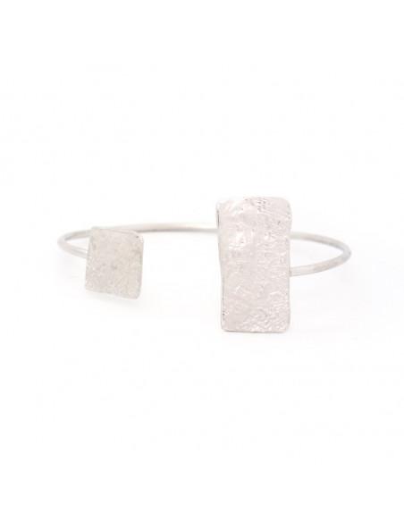 Bracelet bronze silver plated RO