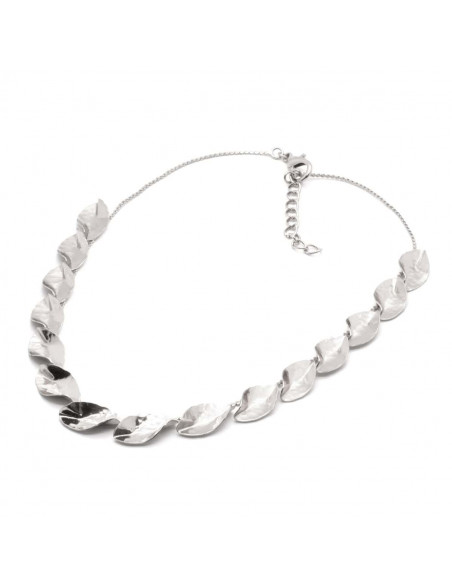 Designer Necklace of bronze greek handmade silver DATORI
