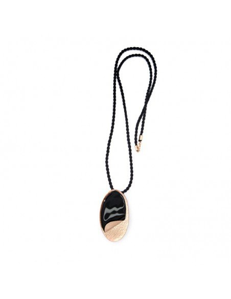 Necklace bronze rose gold plated ALEKTO