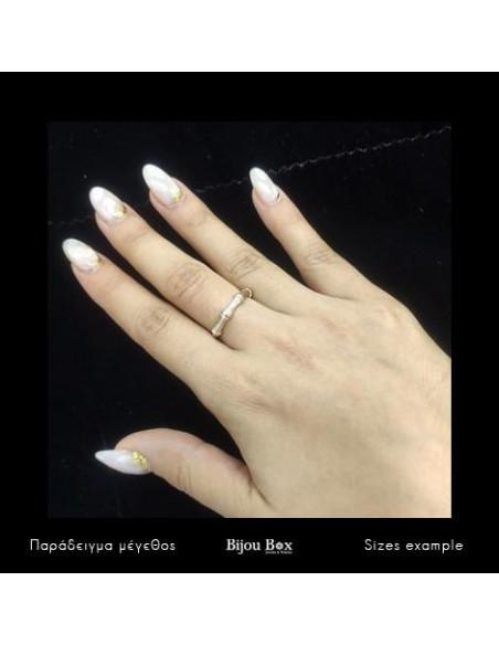 Ring roségold vergoldet ARRA Bijou Box - 2