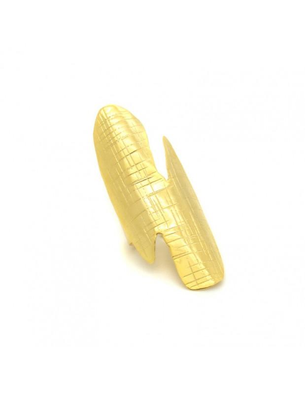 Δαχτυλίδι αρχαιοελληνικό από μπρούτζο χρυσό ATHENE