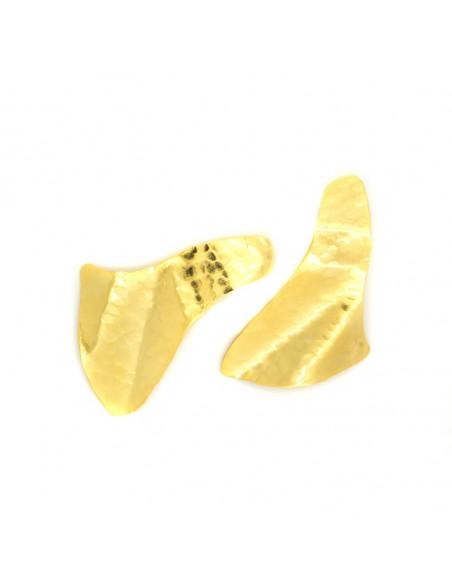 Σκουλαρίκια από μπρούντζο χρυσό SAIL 3