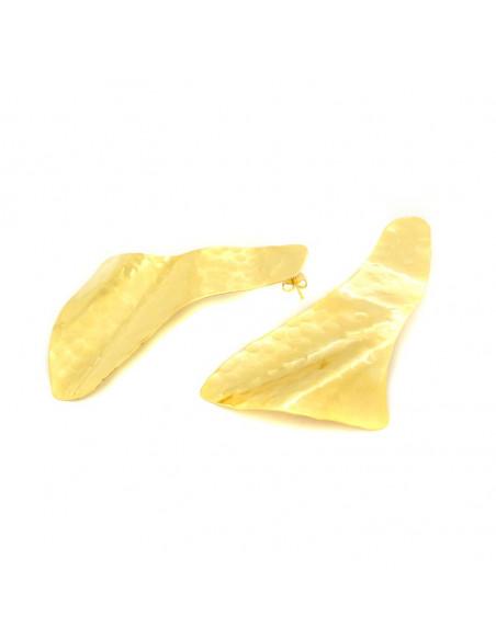 Σκουλαρίκια από μπρούντζο χρυσό SAIL