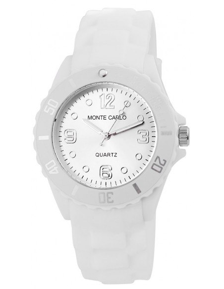 Women's watch with silicone strap MONO