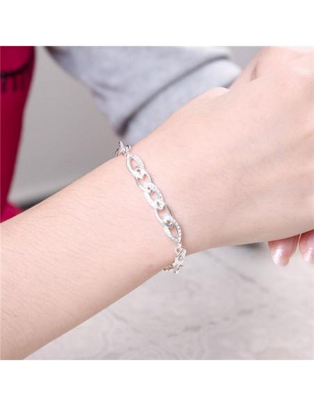 Crystal Bracelet silver GIANNI 2