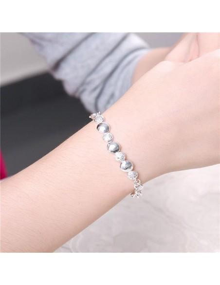 Crystal Bracelet silver LOPO 2
