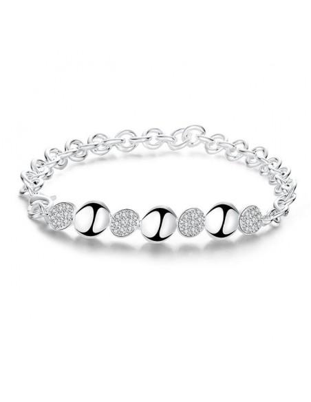 Crystal Bracelet silver LOPO
