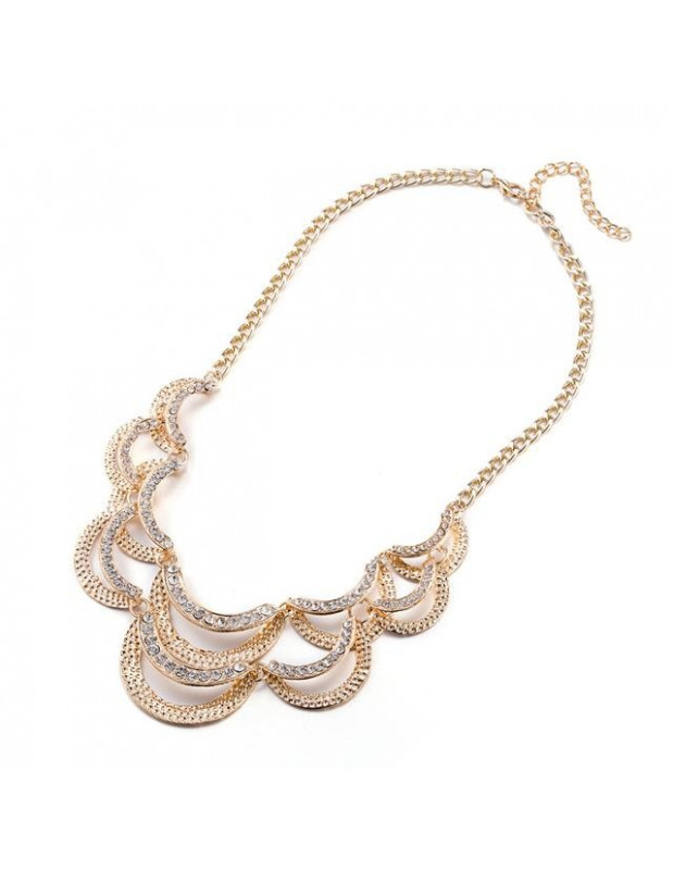 Statement necklace STRASS