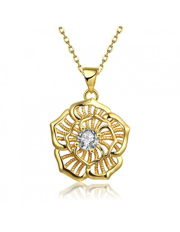 Necklace gold plated HERES